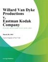 Willard Van Dyke Productions V Eastman Kodak Company