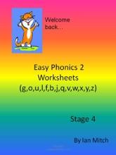 Easy Phonics 2 Worksheets (g,o,u,l,f,b,j,q,v,w,x,y,z)