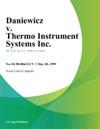 Daniewicz V Thermo Instrument Systems Inc