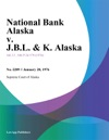 National Bank Alaska V JBL  K Alaska