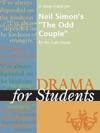 A Study Guide For Neil Simons The Odd Couple