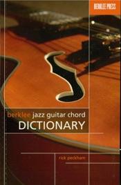 Download Berklee Jazz Guitar Chord Dictionary (Music Instruction)