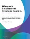 Wisconsin Employment Relations Board V