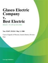 Glasco Electric Company v. Best Electric