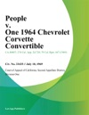 People V One 1964 Chevrolet Corvette Convertible