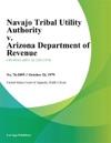 Navajo Tribal Utility Authority V Arizona Department Of Revenue