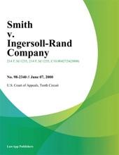 Smith v. Ingersoll-Rand Company