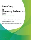 Fmc Corp V Hennessy Industries Inc