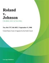 Roland V. Johnson