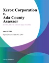 Xerox Corporation V Ada County Assessor