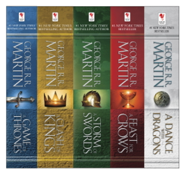 The A Song of Ice and Fire Series - George R.R. Martin book summary