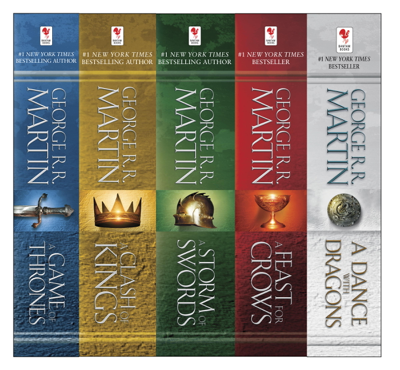George R.R. Martin - The A Song of Ice and Fire Series book