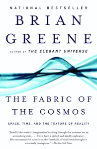 The Fabric of the Cosmos Book Cover