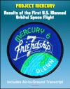 Project Mercury Results Of The First United States Manned Orbital Space Flight February 20 1962 Friendship 7 Mission Of John Glenn Mercury-Atlas 6 MA-6 Including Air-to-Ground Transcript