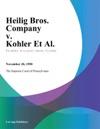 Heilig Bros Company V Kohler Et Al