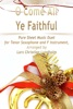 O Come All Ye Faithful - Pure Sheet Music Duet For Tenor Saxophone And F Instrument, Arranged By Lars Christian Lundholm
