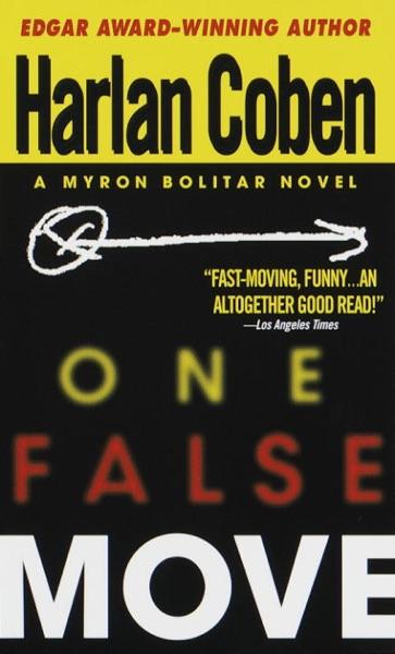 One False Move - Harlan Coben book cover