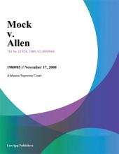 Mock V. Allen