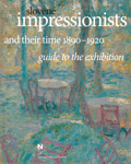 Slovene Impressionists and their Time 1890-1920, guidebook