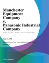 Manchester Equipment Company V Panasonic Industrial Company