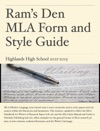 Rams Den MLA Form  Style Guide