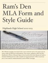 Ram's Den MLA Form & Style Guide