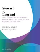 Stewart V. Lagrand