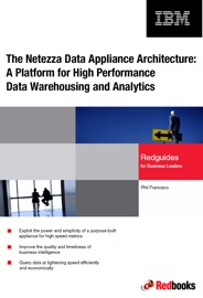 The Netezza Data Appliance Architecture A Platform For High Performance Data Warehousing And Analytics