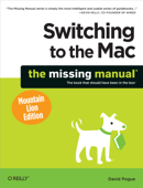 Switching to the Mac: The Missing Manual, Mountain Lion Edition