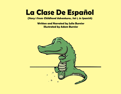 La Clase de Espanol - Julia Burnier book