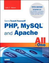 Sams Teach Yourself PHP, MySQL and Apache All in One, 5/e