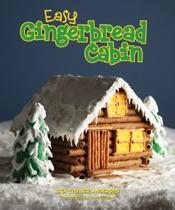 Easy Gingerbread Cabin