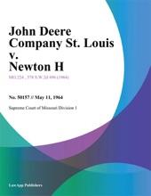 John Deere Company St. Louis v. Newton H