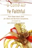 O Come All Ye Faithful Pure Sheet Music Duet For Oboe And Baritone Saxophone, Arranged By Lars Christian Lundholm