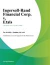 Ingersoll-Rand Financial Corp V Etals