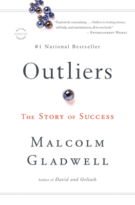 Outliers - Malcolm Gladwell book