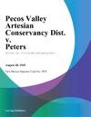 Pecos Valley Artesian Conservancy Dist V Peters