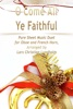 O Come All Ye Faithful Pure Sheet Music Duet For Oboe And French Horn, Arranged By Lars Christian Lundholm