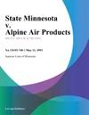 State Minnesota V Alpine Air Products