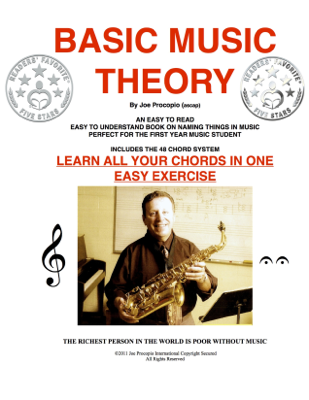 Basic Music Theory - Joe Procopio book