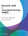 David H Stiff V Associated Sewing Supply