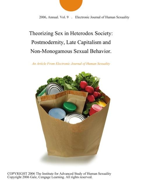 Heterodox sexuality