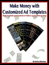 Make Money with Customized Ad Templates