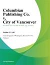 Columbian Publishing Co V City Of Vancouver