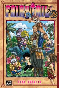 Fairy Tail T28 La couverture du livre martien