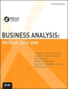 Business Analysis Microsoft Excel 2010