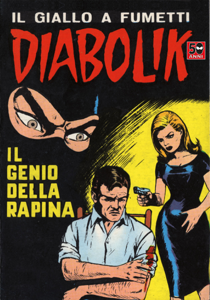 DIABOLIK #32 Copertina del libro