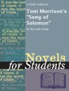 A Study Guide For Toni Morrisons Song Of Solomon