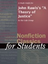A Study Guide For John Rawlss A Theory Of Justice