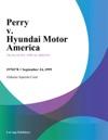 Perry V Hyundai Motor America
